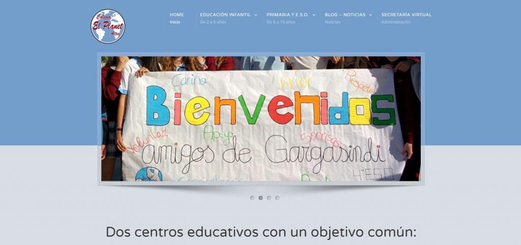 web-colegio-el-planet-altea-clicbotonderecho